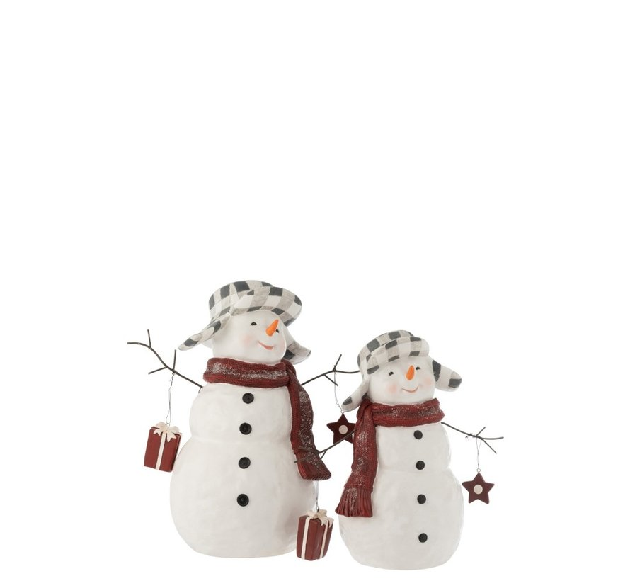 Decoration Snowman Poly Clothing Suit - Small