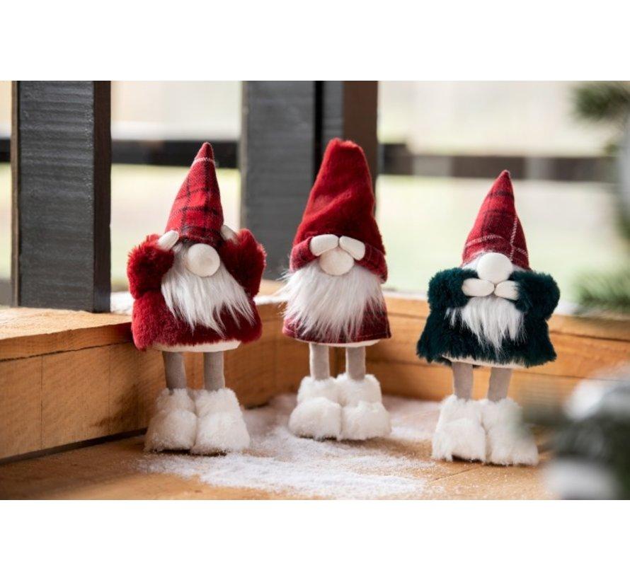 Kerstmannen Horen Zien Zwijgen Rood - Groen
