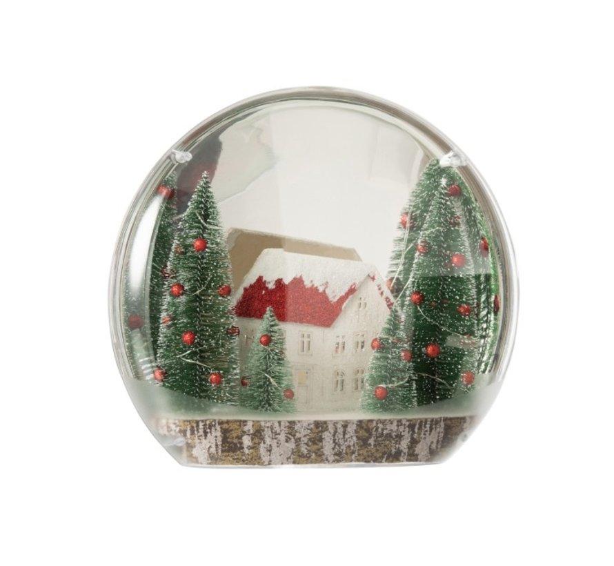 Decoratie Bol Winter Led Verlichting Mix Kleuren - Large