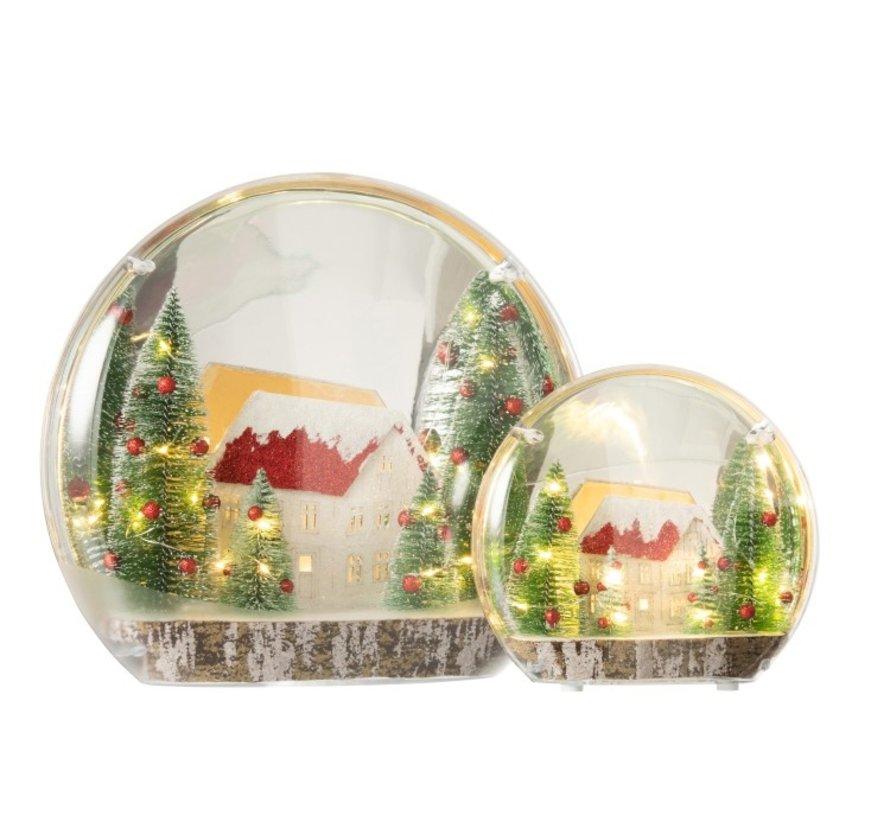 Decoration Sphere Winter Led Lighting Mix Colors - Large