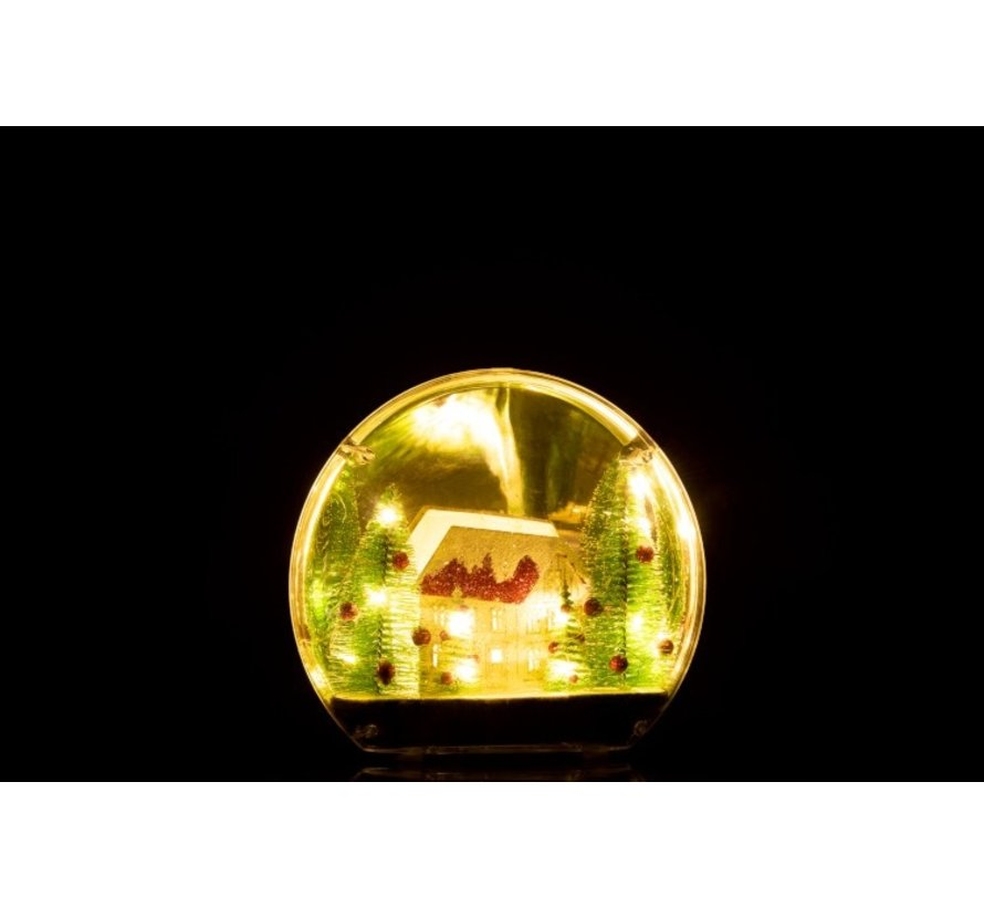 Decoration Sphere Winter Led Lighting Mix Colors - Small