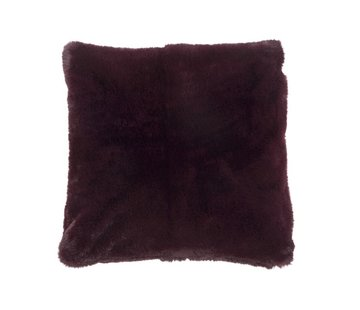 J -Line Cushion Square Cutie Extra Soft - Bordeaux