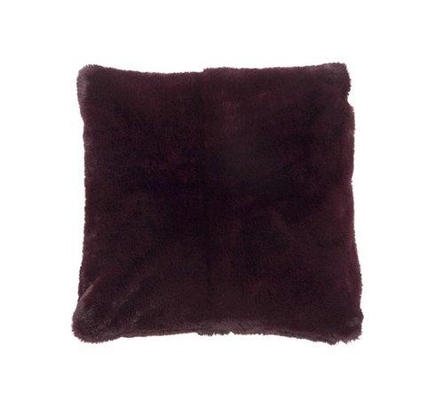 J -Line Cushion Square Cutie Extra Soft - Bordeaux