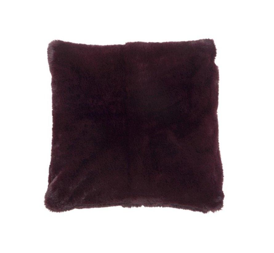 Cushion Square Cutie Extra Soft - Bordeaux