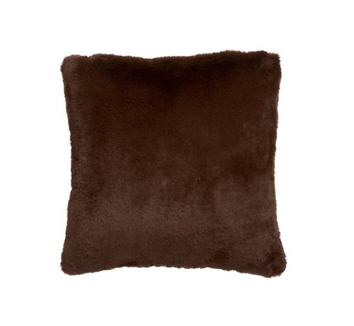 J -Line Cushion Square Cutie Extra Soft - Chocolate Brown