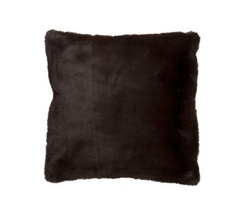 J -Line Cushion Square Cutie Extra Soft - Dark Brown