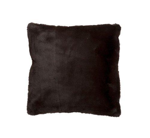 J -Line Cushion Square Cutie Extra Soft - Dark Brown