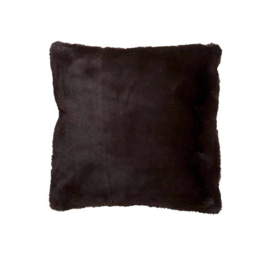 Cushion Square Cutie Extra Soft - Dark Brown