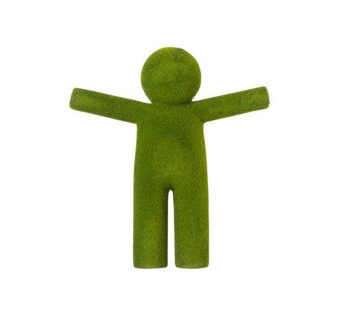 J-Line Decoration P'tit Maurice Open Arms - Leaf green