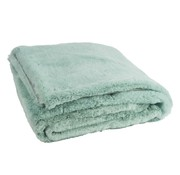 J-Line Plaid Cutie Extra Zacht  Textiel - Muntgroen