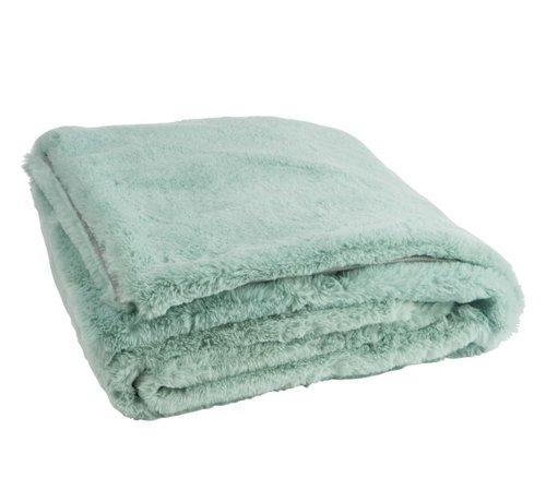 J-Line Plaid Cutie Extra Soft Textile - Mint green