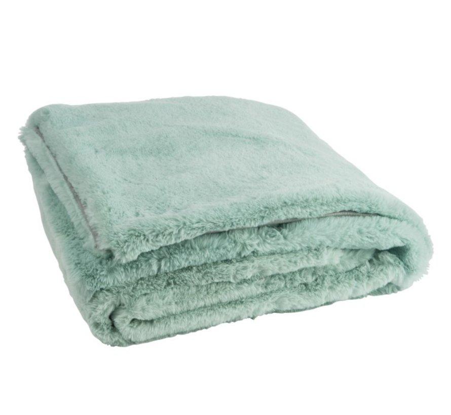 Plaid Cutie Extra Soft Textile - Mint green