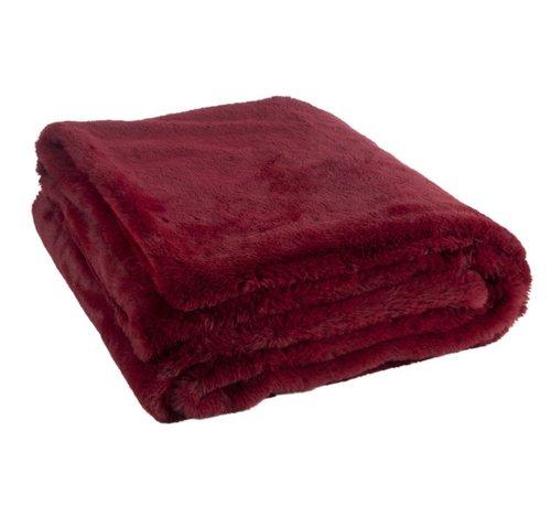 J -Line Plaid Cutie Extra Soft Textile - Red