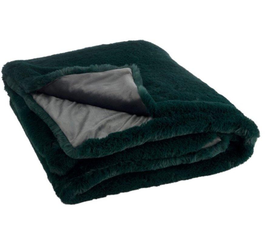 Plaid Cutie Extra Soft Textile - Dark green