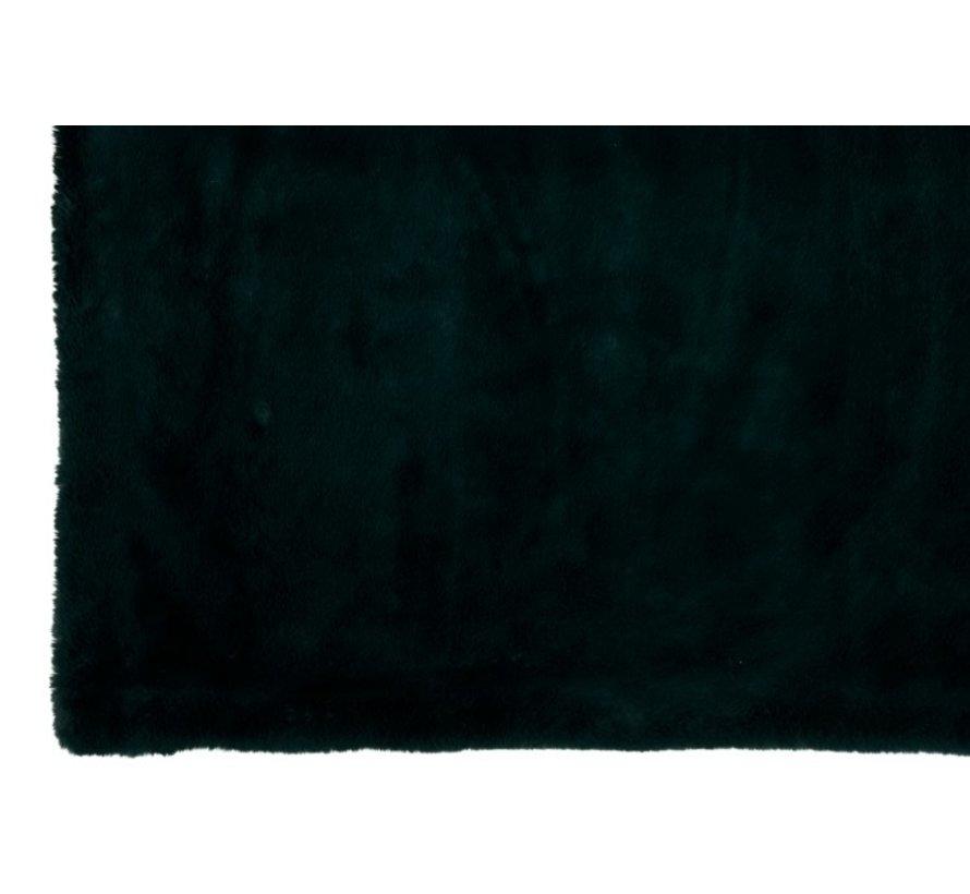 Plaid Cutie Extra Zacht Textiel - Donkergroen