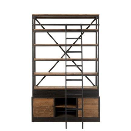 Open kasten en boekenkasten uit kwaliteitsvolle materialen