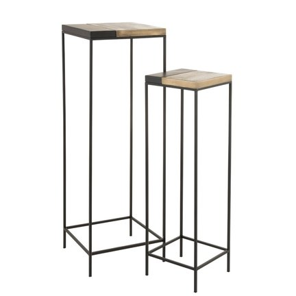 High and low side tables and trendy coffee tables