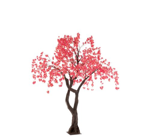 J -Line Artificial Tree Blossom Plastic Pink - Large