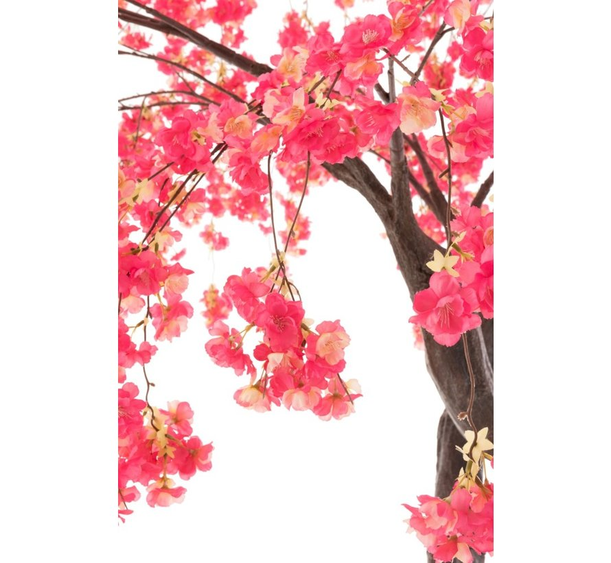 Artificial Tree Blossom Plastic Pink - Large