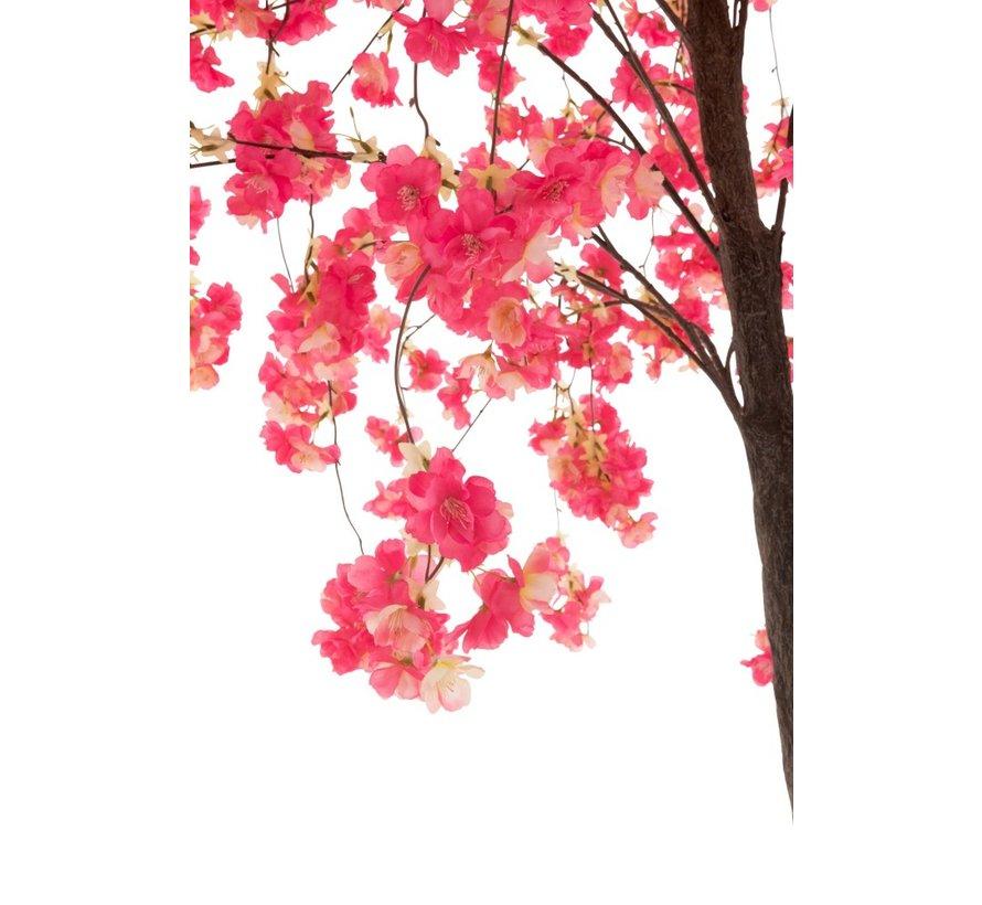 Artificial Tree Blossom Plastic Pink - Medium