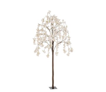 J -Line Artificial Tree Blossom Plastic Pink White - Small