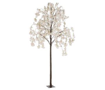 J -Line Artificial Tree Blossom Plastic Pink White - Medium