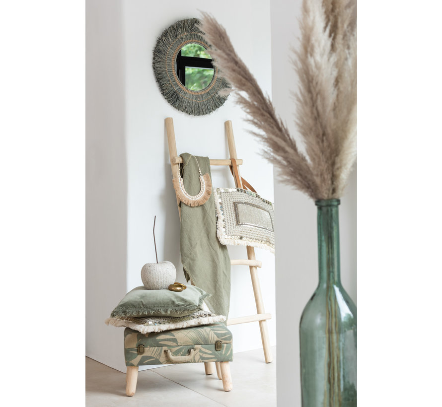 Decoratie Kers Ruw Poly Beige Bruin - Small