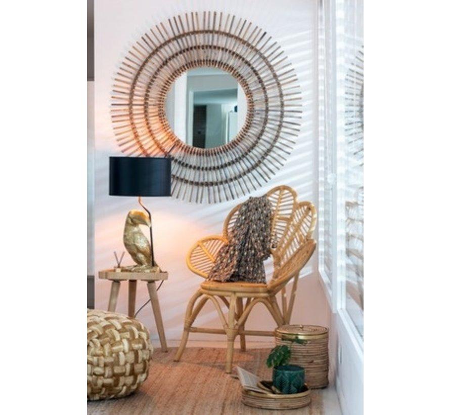 Table lamp Toucan Black Lampshade - Gold