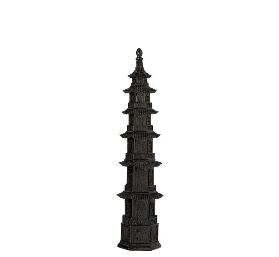 Decoratie Oosterse tempel Zwart - Small