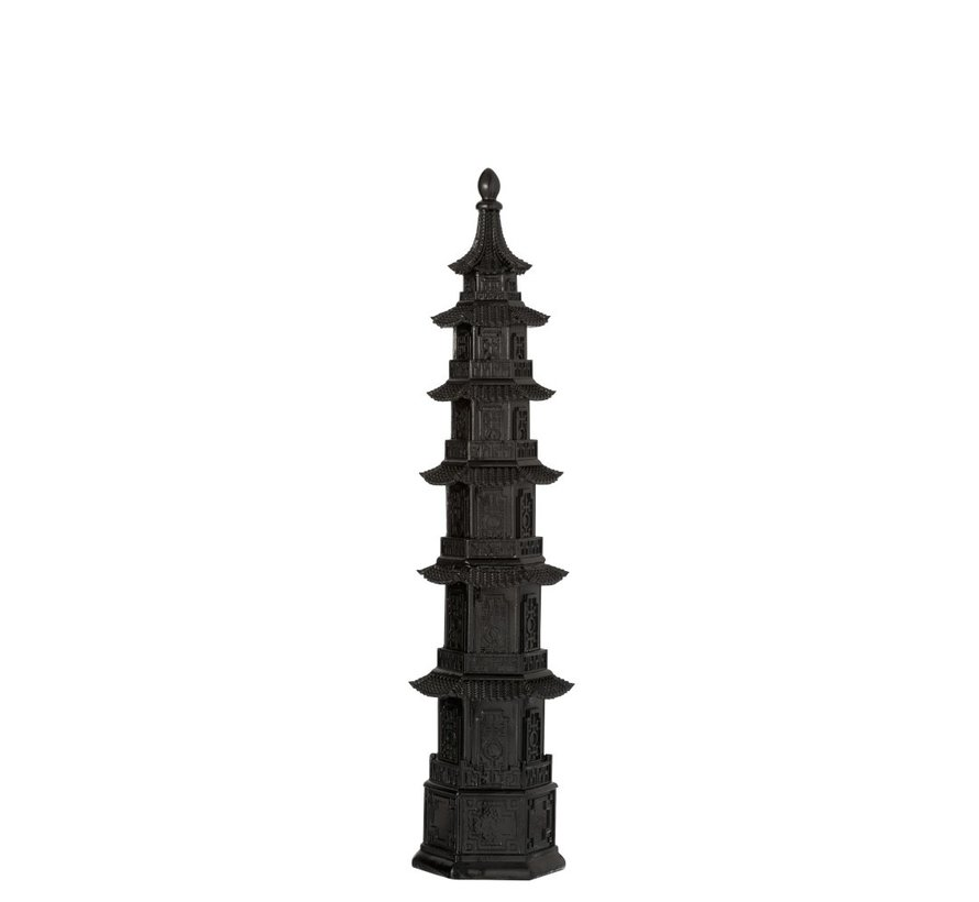 Decoration Oriental temple Black - Small