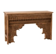 J -Line Console table Rural Mango Wood - Natural