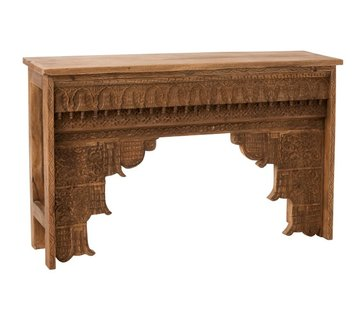 J -Line Console table Rural Natural
