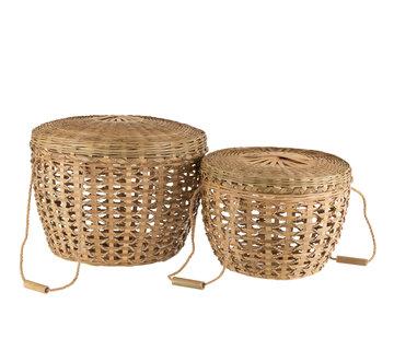 J -Line Baskets Lid Handles Cane