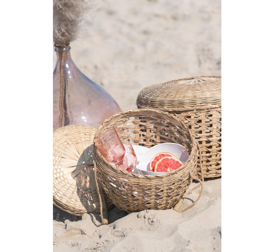 Baskets  Lid Handles Cane