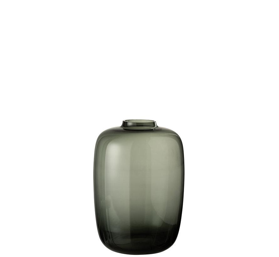 Bottles Vase Glass Gray Small