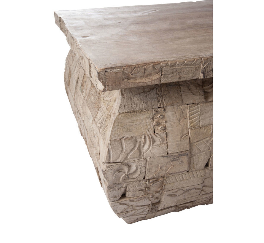 Coffee table Rectangle Gray