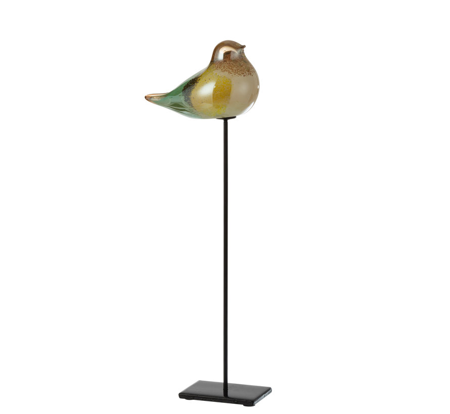 Vogel Glas Mix Kleuren Large