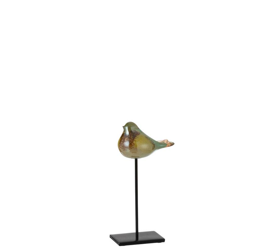 Vogel Glas Mix Kleuren Small