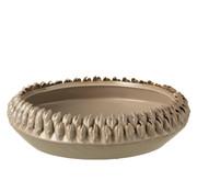J -Line Bowl Ceramic Gray Brown Large