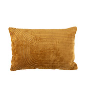 J -Line Cushion Rectangle Turning Patterns Ocher