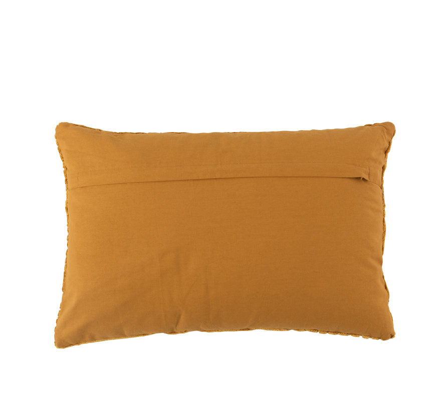 Cushion Rectangle Turning Patterns - Ocher