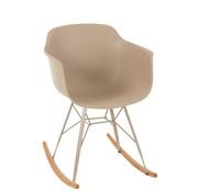 J-Line Rocking chair Pastel Beige