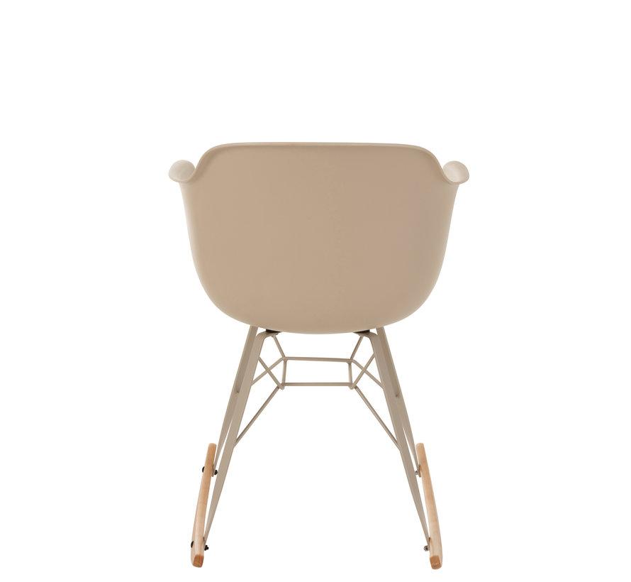 Rocking chair Pastel  Beige