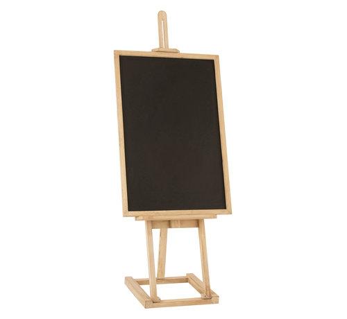 J -Line Chalkboard  Easel Mango Wood