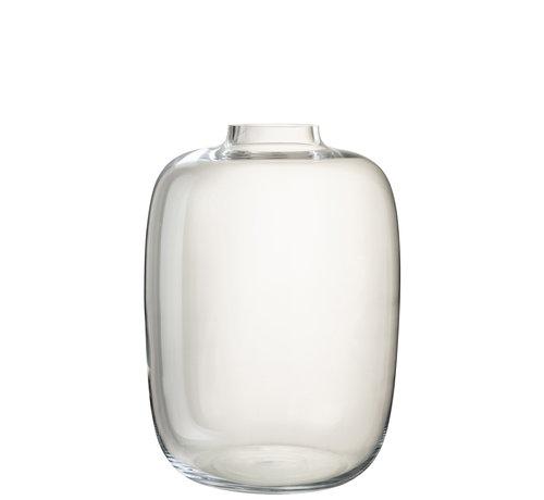 J -Line Flessen Vaas Glas Transparant Large