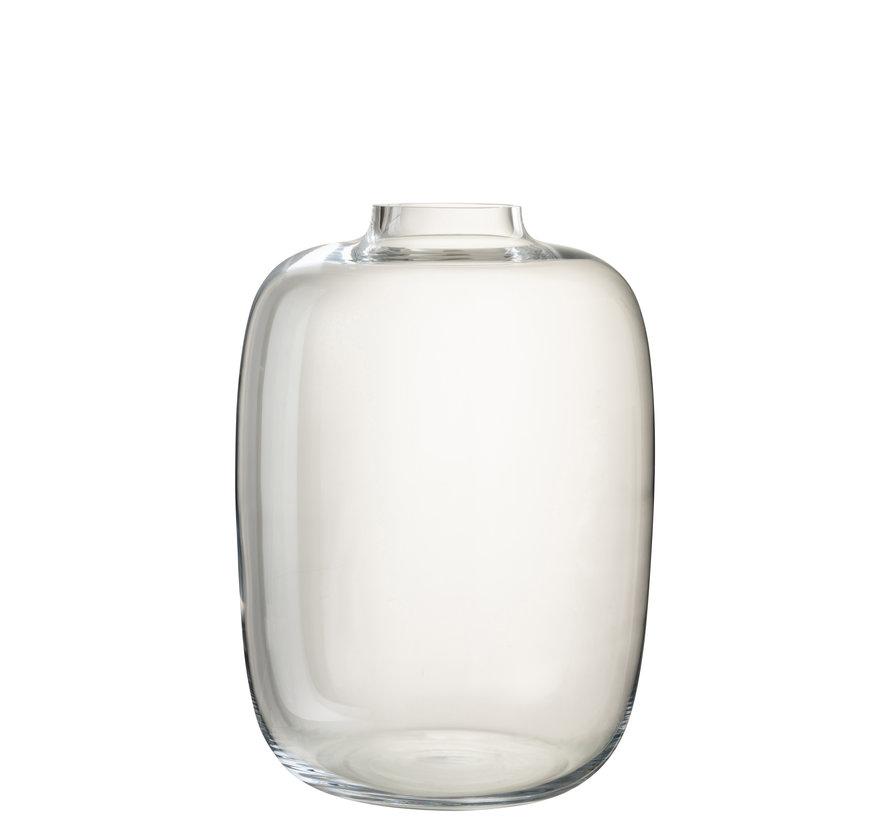 Flessen Vaas Glas Transparant Large