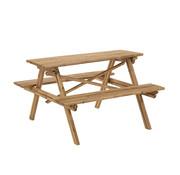 J -Line Picnic table Bamboo Natural Brow