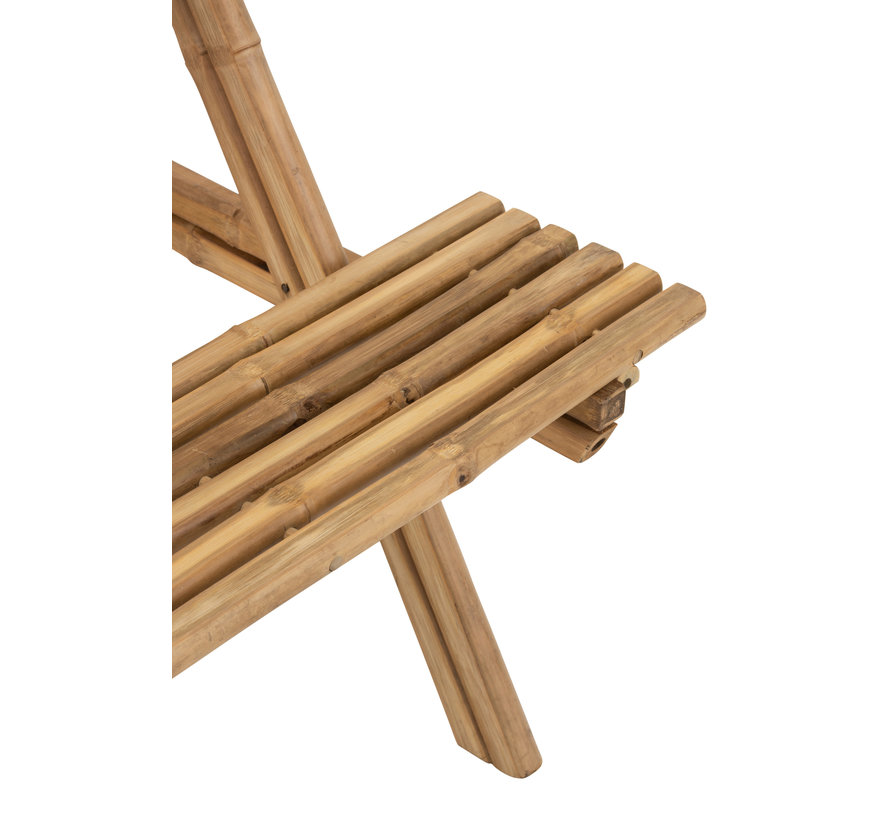 Picknicktafel Bamboo Naturel Bruin