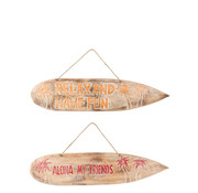J -Line Wall decoration Surfboards Wood - Mix