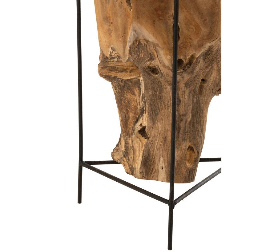 Side Table Teak Root Medium
